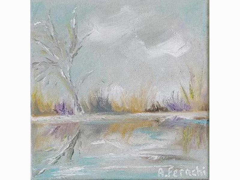 Marsh in Winter 6