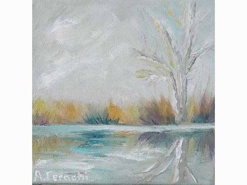 Marsh in Winter 7
