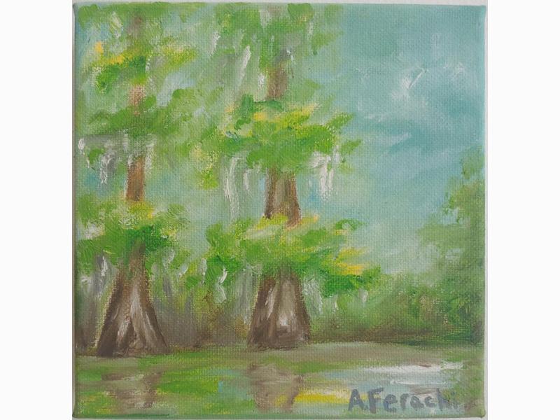 Cypress Trees 1