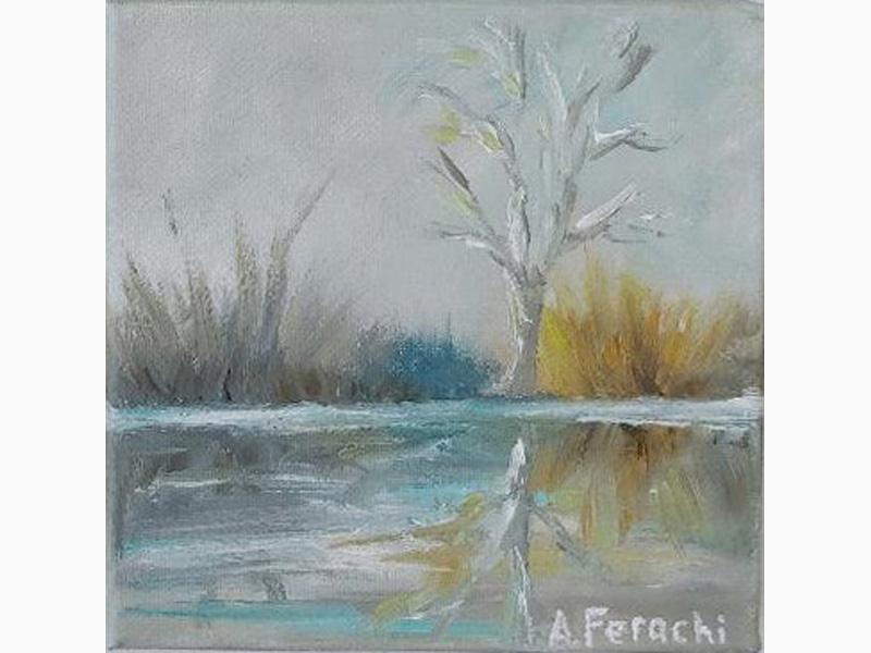 Marsh in Winter 9