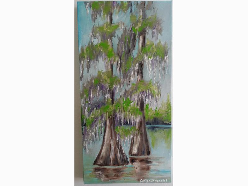Cypress Trees - Spring