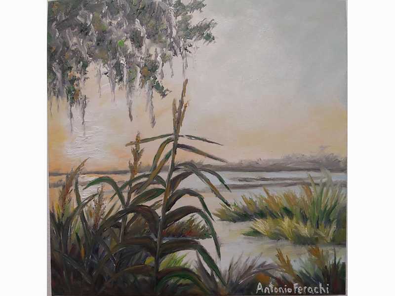 Marsh in Evening